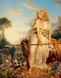 odins daughter kreimhilde valkyrie