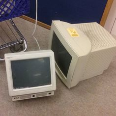 Way too old computer monitors for sale.