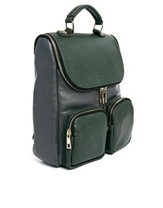 Image 2 of ASOS Contrast Boysy Backpack