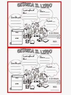 Per la biblioteca di classe scheda di presentazione scrittura pinterest education - Scheda di un libro letto ...