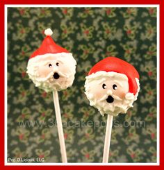 Every Day Should Pop!: Tutorials - Christmas Cake Pops