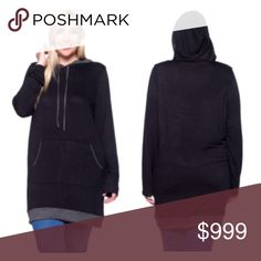 Coming soon! (Plus) Black hoodie Please like this listing to be notified via price drop when it becomes available for purchase.   Availability: 1x•2x•3x•4x • 1•2•2•1  🚫Current listed price is not what this will be listed at. 🚫ETA: 11/18 Tops Sweatshirts & Hoodies