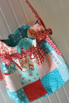 I am definitely intrigued by scrappy quilting.  This site has lots of ideas!