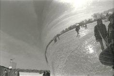 """""""Through the Mirror"""" Minneapolis, MN - 2010 * Black and White * Film * Deb Carneol Original"""