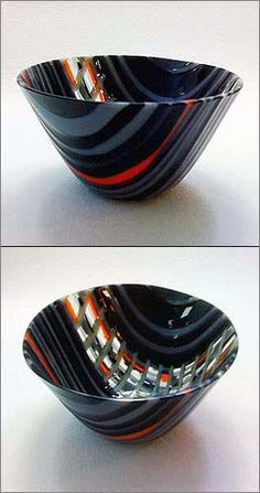 Fused Glass Tapestry Cups - Helios Kiln Glass Studio