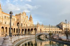 Seville - 8 Best Places to Visit in Spain- Travel Mind Map Barcelona, Best European Road Trips, Northern Lights Trips, Vietnam, Spanish Architecture, Seville Spain, Best Cruise, Cadiz, Andalusia