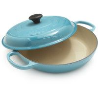 Le Creuset® Caribbean Round 5.5 Qt. French Oven & Braiser in Carribean Blue