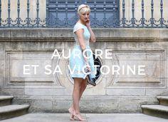 Portrait d'Aurore qui a testé le concept de robes personnalisables chez Ma robe et moi en créant sa robe Victorine sur mesure.