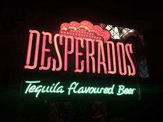 Desperados neon sign