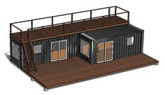 We are the premiere provider of custom container homes. Using 20 & 40 ft containers, we provide unique, modern, durable, & cost-effective homes. 40ft Container, Container Home Designs, Container Homes Cost, Container Office, Building A Container Home, Container Cabin, Container Buildings, Container Gardening, Shipping Container Sizes