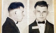 An Indiana judge dismissed a lawsuit Wednesday brought by the nephew of notorious gangster John Dillinger, who sought to exhume his remains to prove someone else is buried at the Indianapolis gravesite. Real Gangster, Mafia Gangster, Gangster Films, Indiana, Prison, Celebrity Mugshots, Young John, Bank Robber, Public Enemies