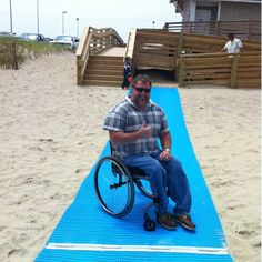 AccessRec Beach Access Mats: Resources: Products Directory: National Center on Accessibility: Indiana University Bloomington