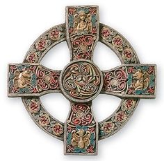 Book of Kells Cross, Trinity University, Dublin, Ireland