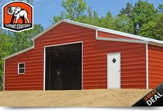 Premium Metal Barns, Free Delivery & Installation by Elephant Structures