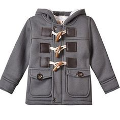 Baby Boy Warm Winter Horn Button Outerwear Toddler Hooded Coat Snowsuit  Jacket Months) - Of Course ! You Want Affordable Prices! 1a0ddc681