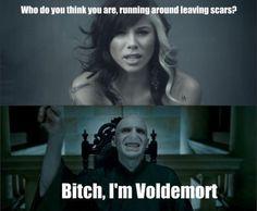 From Jar of Hearts to Harry Potter.. Haha.