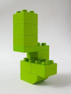 BRICK ART LIGHT GREEN - VUE 3