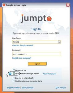 Jumpto | The Ultimate Free VPN/Proxy Service. Read how Jumpto is taking on the VPNs and Proxies of the world.