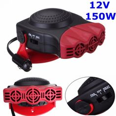 2 in 1 cooling and heating function, regarded as demister and defroster. Power: This heater or fan will blow instant heat or cool air. It will warm your car within seconds. 1 x Auto Heater Fan. Car Fix, Piece Auto, Canned Heat, Car Hacks, Heating And Cooling, Electric Cars, Portable, Truck, Autos