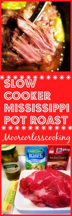 The easiest, most delicious Beef Pot Roast that you make in your slow cooker! Only 7 ingredients are needed to make this incredible roast! I just want to put this out there… this happens to b…