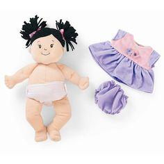 Baby Stella Doll - Black Hair