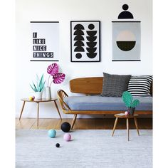 Graphic posters £28 http://www.zandersandsons.co.uk/product/nice-things  Zanders and Sons — Nice Things