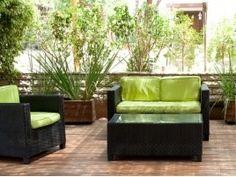 Giardino e terrazzo: arredarli con piante e vasi #Casa #Arredo