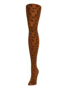 860941df5749 Cheetah Nylon Tight – Hansel from Basel Fishnet Stockings, Stockings  Outfit, Ankle Socks,