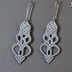 Tutorial: Silver heart earring