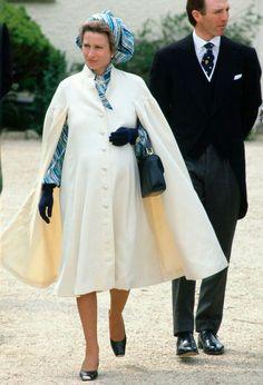Princess Anne pregnant w/Zara Phillips when Anne was 30 in 1981