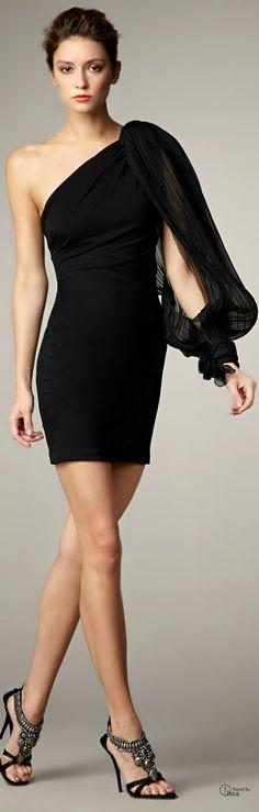 Notte By Marchesa ● Black Cocktail Dress