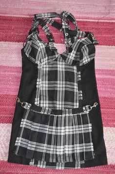 """LIP SERVICE Punk & Disorderly """"Oh Well In Hell"""" mini dress #46-471"""