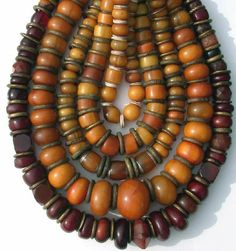 Trade Beads:  African Amber