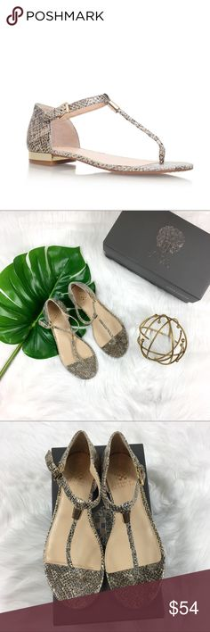 Vince Camuto NIB Halana Sandals Vince Camuto Halana Sandals. Size 8. New in box.   ❌I do not Trade 🙅🏻 Or model💲 Posh Transactions ONLY Vince Camuto Shoes Sandals