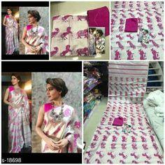 Catalog Name: Tussar Zarna  Fabric: Saree - Tussar Zarna, Blouse - Banglori Silk  Size: Saree Length - 5.50 Mtr, Blouse Length - 0.80 Mtr  Work: Digital Printed  Dispatch: 2 - 3 Days  Designs: 2