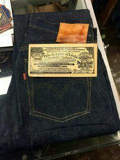 40's Levi's S501XX Vintage Jeans, Vintage Outfits, Blue Jeans, Denim Jeans, Levis Jean Jacket, Raw Denim, Denim Outfit, Denim Fashion, Menswear