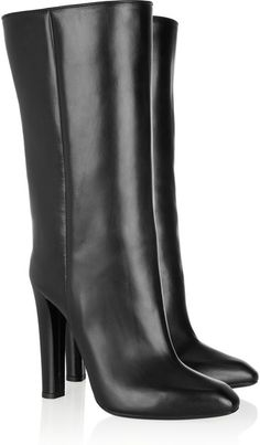 0d01d61a8248 Edythe Leather Knee Boots - Lyst ALEXANDER WANG Buy Boots