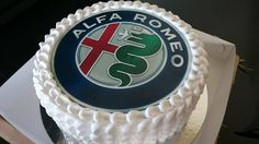 Birthday cake for #AlfaRomeo fan - suprise for husband :-)