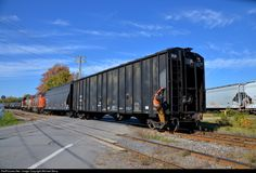 RailPictures.Net Photo: ECQX 4818 Canadian National Railway N/A at Coteau, Quebec, Canada by Michael Berry