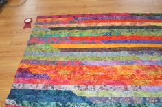 Maryke Dykhuizen's place quilt top 'I made mine out of batiks jelly roll (race) and won first place. It was so much fun' Jelly Roll Race, Show And Tell, Quilt Top, Love Is All, Quilts, Creative, Fabric, Projects, Fun
