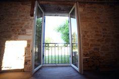 Maison en pierre - Dordogne - Côté jardin - Narure - Campagne