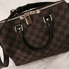 Louis Vuitton Speedy Bandouliere 25 damier ebene Louis Vuitton Speedy Bag 5f97d5f6dc
