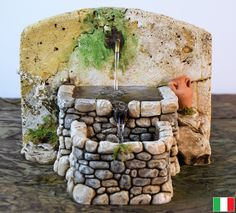 1 million+ Stunning Free Images to Use Anywhere Diorama, Mexican Christmas Traditions, Table Fountain, Glue Gun Crafts, Cement Art, Decorated Wine Glasses, Christmas Nativity Scene, Stone Crafts, Brick And Stone