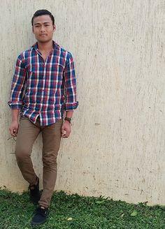 #casual_looks Casual Looks, Button Down Shirt, Men Casual, Plaid, Mens Tops, Shirts, Women, Fashion, Gingham