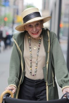 Spirited Style <<<< Oh yeah! I love it! Age is not important, health status is not important because it's easier to bear when you dressed nicely :D