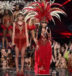 Performed with Nicki Minaj at the #VMAs2015