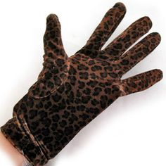 *SOLD* animal prints women's gloves $1 SORRY SOLD ... we sell more WOMENS GLOVES and ACCESSORIES at http://www.TropicalFeel.com