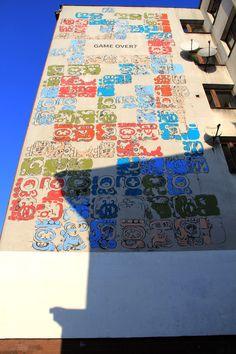 Mayamural, day 5, last. 4/18 Day 5, last. #maya #mural #cracow #2012 #graffiti #streetart Cracow, Poland.