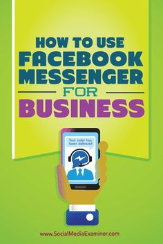 Do your customers use Facebook Messenger?  Recent updates make it easier for businesses to communicate with customers via Messengers private, one-to-one messages.  In this article youll discover how to connect and engage with customers using Facebook Me