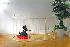 楕円形のおしゃれなワンコのサークル。 Bunny, House, Home Decor, Products, Dogs, Cute Bunny, Decoration Home, Home, Room Decor